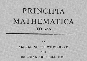Portada de los Principia Mathematica
