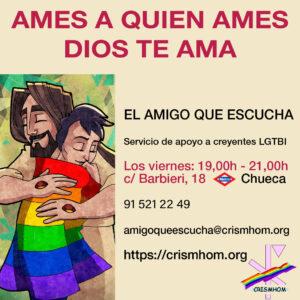 AMIGO QUE ESCUCHA, si necesitas hablar ahora alguien te escucha @ Sede de CRISMHOM   Madrid   Comunidad de Madrid   España